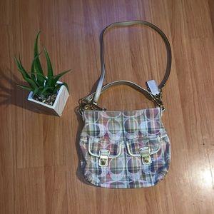 Plaid Coach Bag
